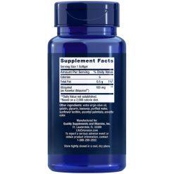 Super Ubiquinol CoQ10, 100 mg, 60 softgels Supplement Facts