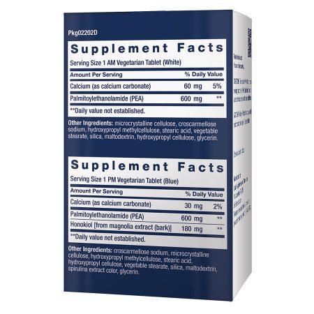 ComfortMAX support & discomfort relief 60 AM/PM vegetarian tablets supplement facts