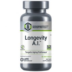 GEROPROTECT Longevity A.I. anti-aging supplement combines botanical compounds