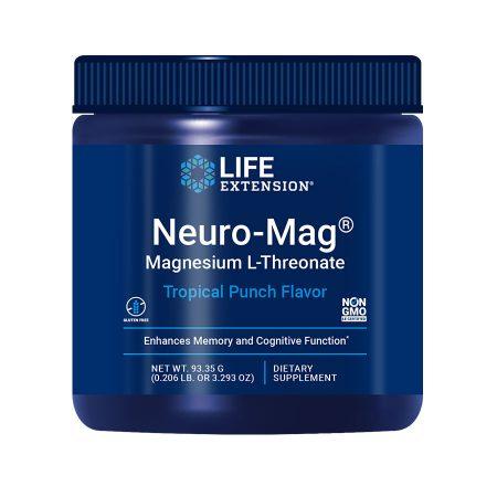Neuro-Mag Magnesium L-Threonate tropical punch flavoured powder