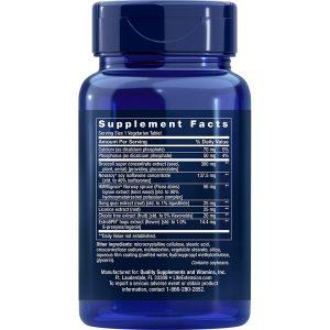 Estrogen for Women 30 vegetarian tablets supplement facts