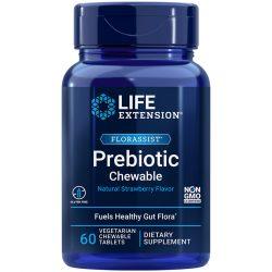 FLORASSIST Prebiotic Chewable 60 chewable tablets provides fuel for gut flora