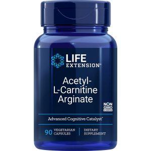 Acetyl-L-Carnitine Arginate 90 vegetarian capsules