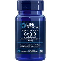 Super Ubiquinol CoQ10 with Enhanced Mitochondrial Support 30 softgels