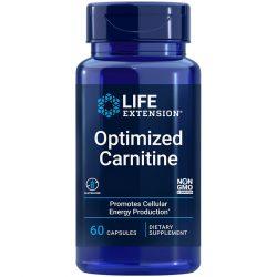 Optimized Carnitine 60 vegetarian capsules Promotes heart & brain health
