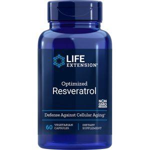 Optimized Resveratrol 60 vegetarian capsules