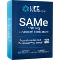 SAMe S-adenosylmethionine 400 mg 60 enteric coated tablets