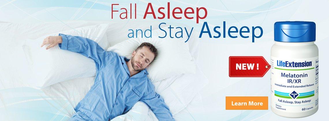 Melatonin - All-night support for sustained, restful sleep