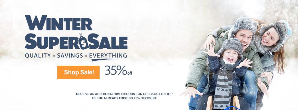 winter super sale 35% off