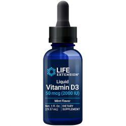 Liquid Vitamin D3 mint flavor whole body health nutrient