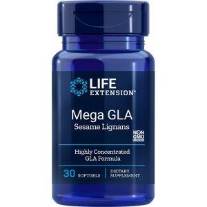 Mega GLA with Sesame Lignans 30 softgels