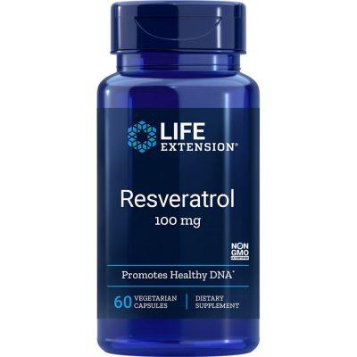 Resveratrol 100 mg 60 vegetarian capsules