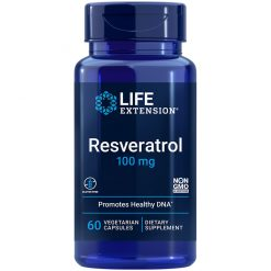 Resveratrol 100 mg Anti-aging supplement that promotes health and longevity