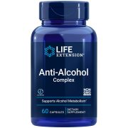 Anti-Alcohol Complex powerful nutrients to help support healthy liver function & alcohol metabolism