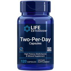Two-Per-Day multivitamins & minerals Capsules 120 capsules