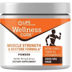 Wellness Code Muscle Strength & Restore Formula 3.32 oz