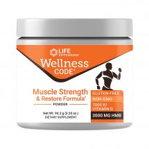 Wellness Code Muscle Strength & Restore Formula sustains muscle health and growth