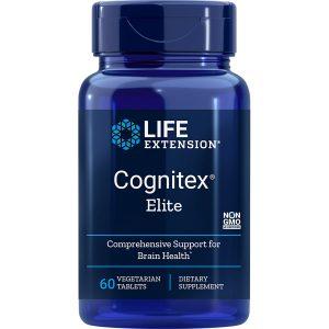 Life Extension Cognitex Elite 60 vegetarian tablets