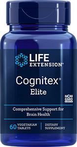 Cognitex Elite Life Extension supplement