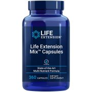 Life Extension Mix Capsules High-potency vitamin, mineral, fruit & vegetable supplement