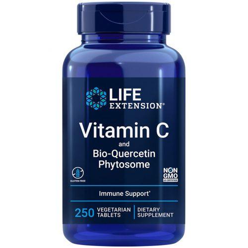 Vitamin C and Bio-Quercetin Phytosome 250 vegetarian tablets