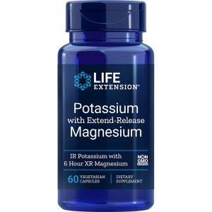 Potassium with Extend Release Magnesium 60 vegetarian capsules
