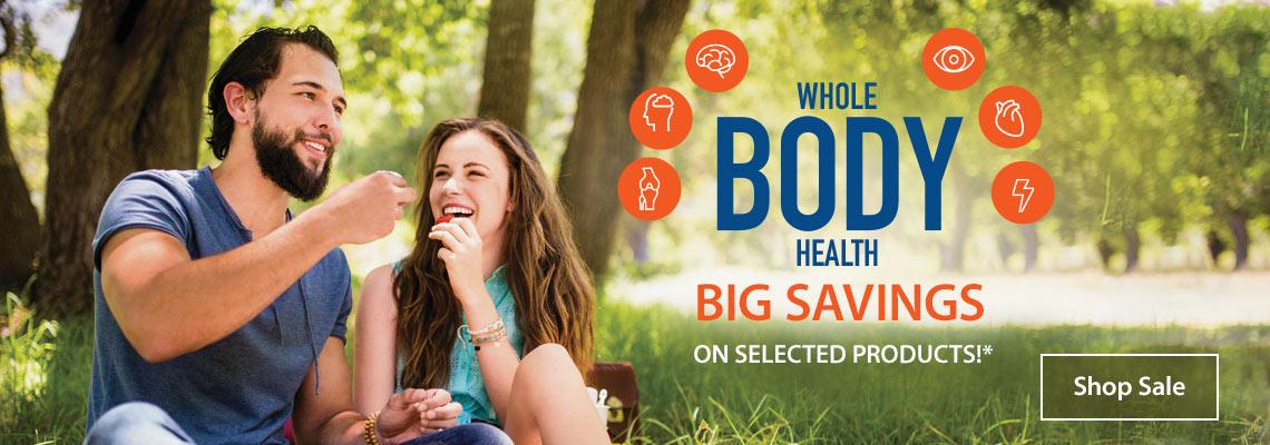 whole body health shop sale life extension australia