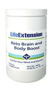 Keto Brain and Body Boost Peach flavoured