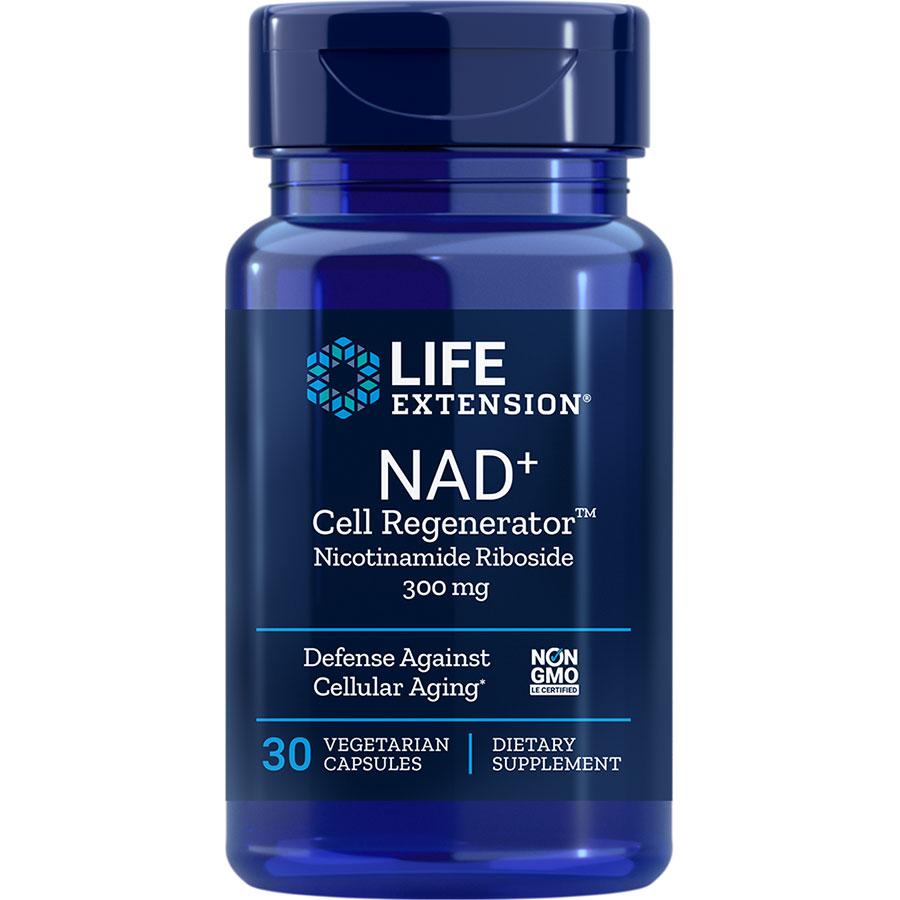 NAD+ Cell Regenerator Nicotinamide Riboside 300 mg 30 vegetarian capsules