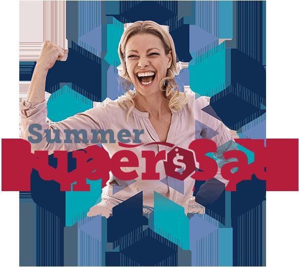summer super sale font