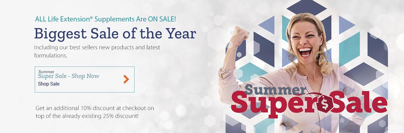 Life extension Australia Summer Super Sale