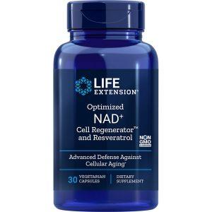 Optimized NAD+ Cell Regenerator with Resveratrol 30 vegetarian capsules