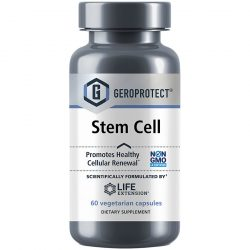 Life extension GEROPROTECT Stem Cell 60 capsules Promotes healthy cellular renewal