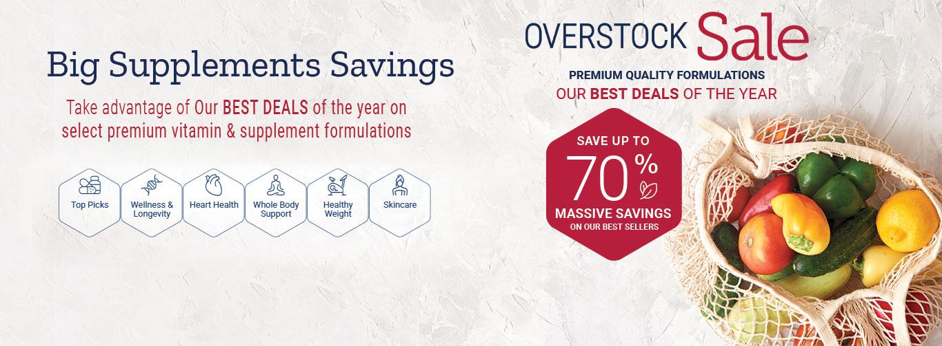 Overstock sale save big now