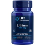 Lithium mineral supplement supports brain health and longevity
