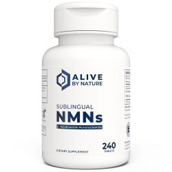 Alive by Nature Sublingual NMNs 240 Tablets