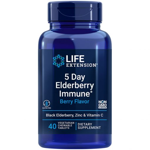 5 Day Elderberry Immune, Elderberry, zinc & vitamin C to help you stay at your best