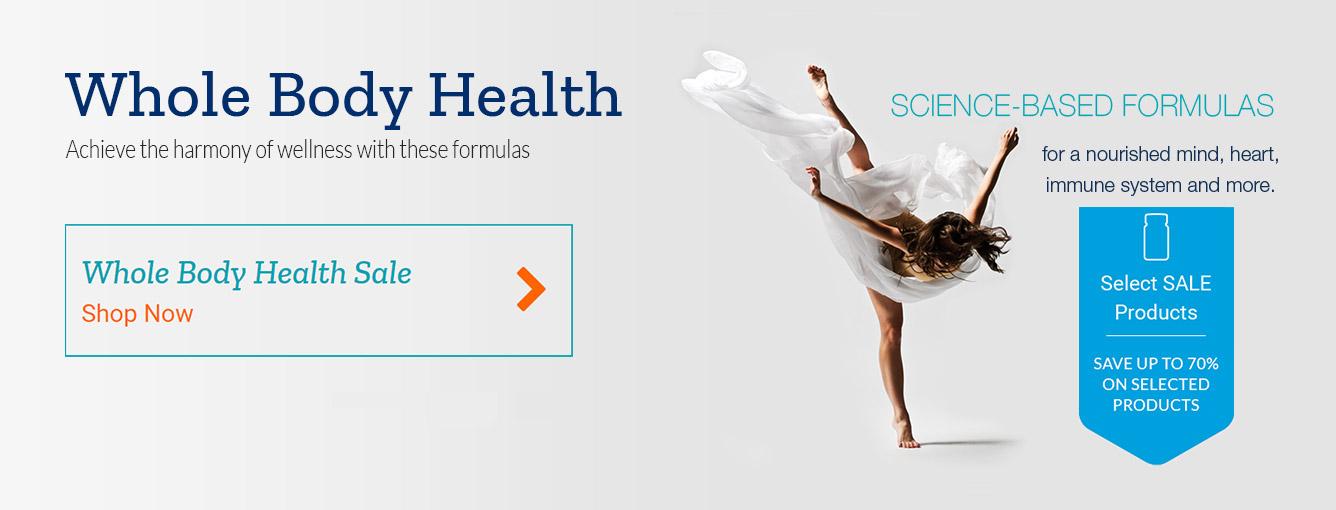 Whole body health sale shop now