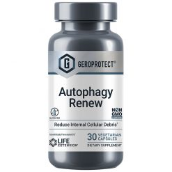 GEROPROTECT Autophagy Renew, 30 Vegetarian Capsules - Anti-aging & longevity supplement