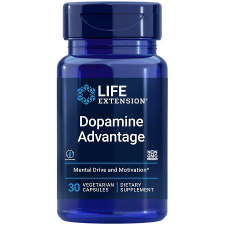 Dopamine Advantage 30 capsules increases dopamine levels to stay sharp & motivated