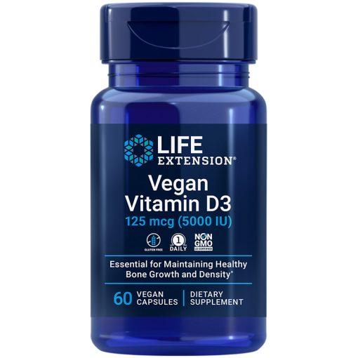 Vegan Vitamin D3 60 vegan capsules Potent bone & immune health supplement for vegans
