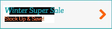 Winter Super Sale Button